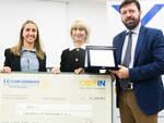 """La consegna del premio a Fratelli è possibile per il suo progetto """"Legno Sinergia & Seismic Brake Panel"""""""