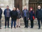 La delegazione forlivese a Bourges