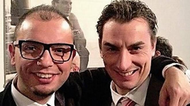 Nella foto Daniele Mezzacapo con l'On. Jacopo Morrone