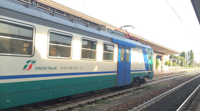 Stazione di Ravenna, immagine di repertorio