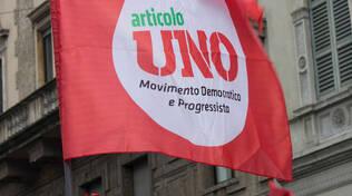 Bandiera Articolo Uno, immagine di repertorio