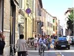 Corso Matteotti, Faenza (foto d'archivio)