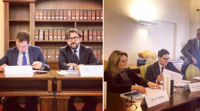 Da sx l'onorevole Marco Di Maio, Stefano Bellavista e l'onorevole Simona Vietina