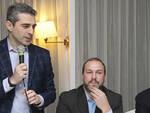 Federico Pizzarotti, Pietro Vandini e Serse Soverini