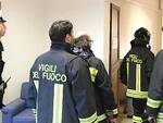 I controlli effettuati ieri dai Vigili del Fuoco e dalla Municipale a Ravenna