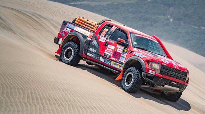 Il  Ford Raptor T2 del Racing Team Le Fonti