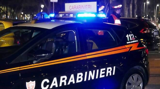Immagine fornita dalla compagnia dei Carabinieri di Rimini
