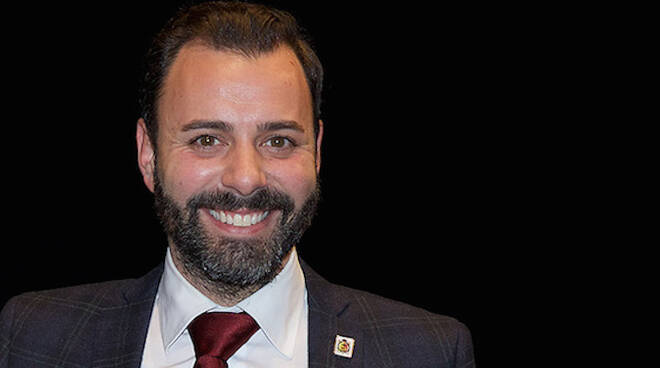 L'assessore Giacomo Costantini