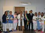 L'onorevole Morrone e il sindaco Drei all'ospedale di Forlì