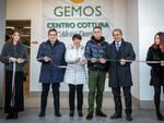 Un momento dell'inaugurazione del Centro di Cottura Gemos