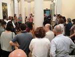 Un momento dell'inaugurazione della sede espositiva di Fusignano