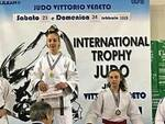Claudia Barbeitos sul podio (3A)