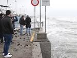 I danni alla palizzata sud di Marina di Ravenna causati dalla mareggiata