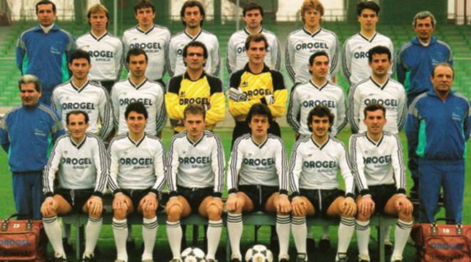 La formazione del Cesena calcio 1988-1989