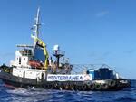 La nave della ong Mediterranea