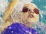 """La nuotatrice Emma Meldolesi (foto di Giulia Toscano tratta dalla pagina Facebook """"Rinascita Nuoto Team Romagna"""")"""