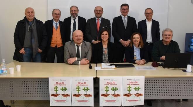 La presentazione del nuovo soggetto cooperativo a Forlì: il fatturato arriverà a 10 milioni annui con 343 occupati