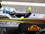 Matteo Nannini al volante