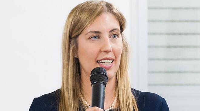 Valentina Palli, candidato sindaco per il centrosinistra di Russi. Foto di Benedetta Tarroni
