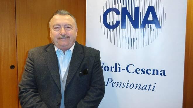 Alvaro Attiani, presidente di CNA Pensionati Forlì-Cesena