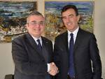 Il Questore Eugenio Russo e il Presidente dell'Autorità Portuale di Ravenna Daniele Rossi
