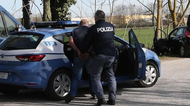 L'arresto da parte della Polizia