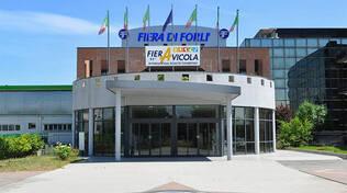 L'ingresso della Fiera di Forlì in occasione della FierAvicola (imamgine tratta dal sito di Fieravicola)