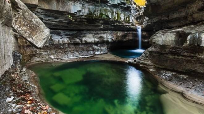 La grotta Urlante di Premilcuore (foto Coldiretti)