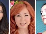 Ai Usaki, Megumi Horie e Annalisa Remondini