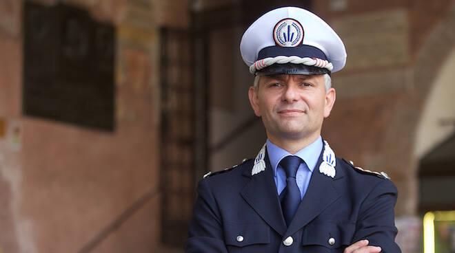 Andrea Giacomini, comandante della Polizia locale di Ravenna