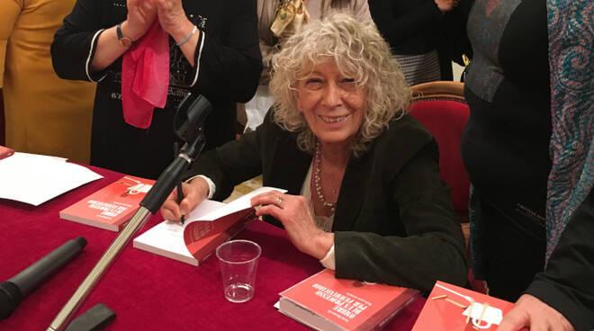 Carla Baroncelli, ieri pomeriggio alla presentazione