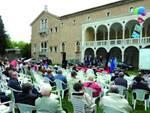 Giardini pubblici di Ravenna, evento Cgil, Cisl e Uil