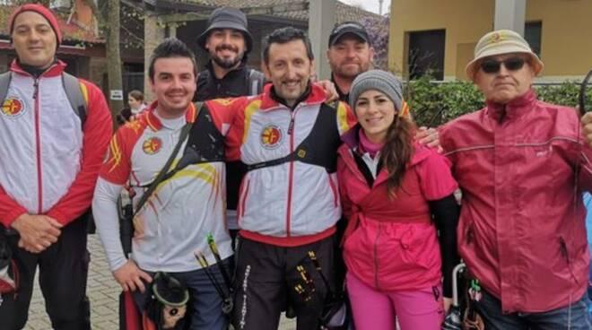 """Gli Arcieri Bizantini Ravenna al """"20 Hunter e Field del Delta"""""""