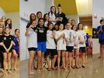 Gli atleti di Rinascita Nuoto Team Romagna