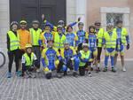 I partecipanti alla pedalata Fiab