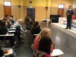 Nella foto l'incontro con gli studenti