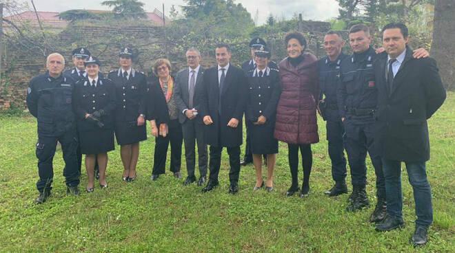 Nella foto l'incontro di questa mattina alla Casa circondariale di Forlì