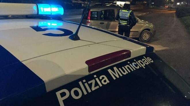 Prosegue l'opera di controllo del territorio della Polizia locale dell'Unione Rubicone e Mare (foto d'archivio)