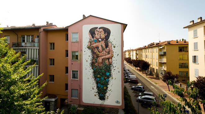 Street Art nel quartiere Darsena a Ravenna