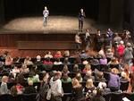 Un momento della Chiamata Pubblica al Teatro Rasi