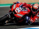 Andrea Dovizioso, 33 anni, attualmente leader della classifica MotoGp (foto media Ducati)
