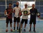 Da sinistra Giorgio Negroni, Carlo Conti, Massimo Tonti e Filippo Scala, protagonisti del circuito SideSpin