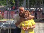Davide De Zan e Tonina Pantani