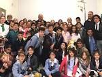Gli alunni della scuola di Marina di Ravenna