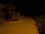 Il fiume Savio durante la piena della notte tra il 13 e il 14 maggio