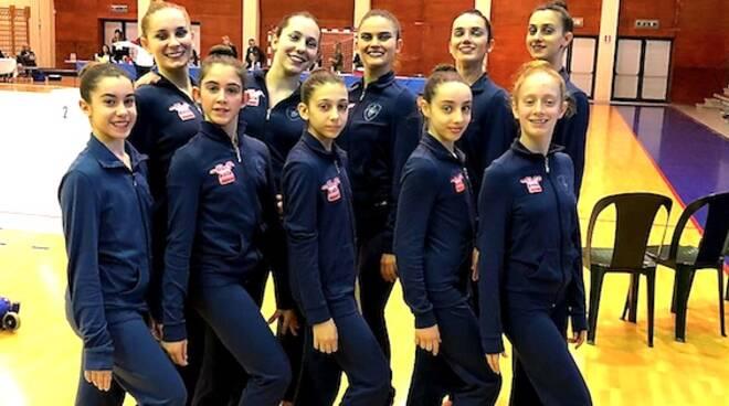 Le ginnaste di Rhythmic Ravenna