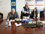Nella foto l'incontro in TCR con Mingozzi, Sabadini e gli ospiti del porto di Varna