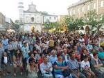Cena in piazza a Fusignano
