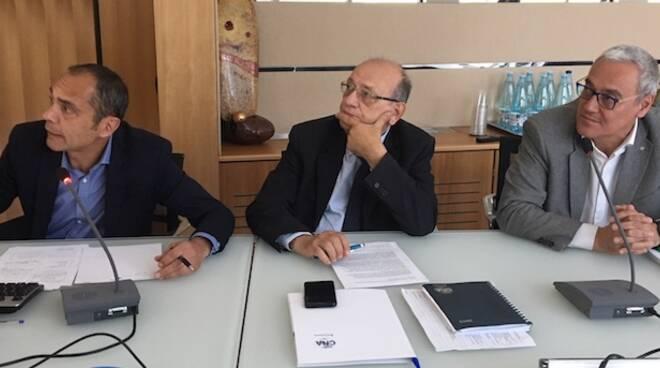 Da sinistra: Alessandro Battaglia, Pierpaolo Burioli e Maurizio Gasperoni