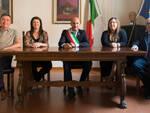 Da sinistra: Andrea Minguzzi, Valentina Modena, Nicola Pasi, Lorenza Pirazzoli e Sante Venturi